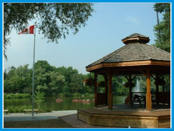 Mill Pond Park Gazebo