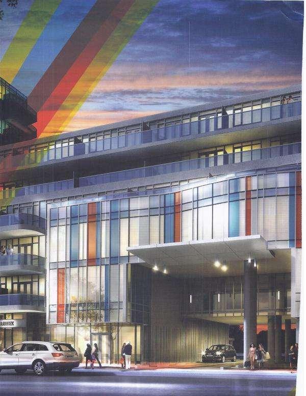 Xpression Condominium Grand Entrance