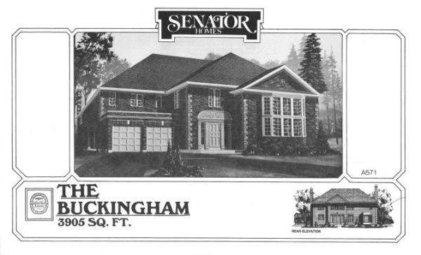 Senator Homes Buckingham Model in Heritage Estates